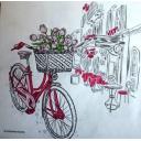 велосипед Монмартра
