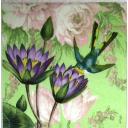 Птичка и цветы