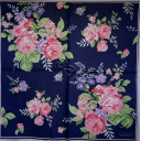 цветы на синем  GREENGATE