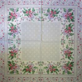 рамка с узорами и цветами