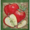 красные яблоки 25х25