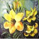 лилии желтые