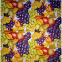 фон виноград и фрукты