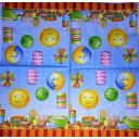 солнце, месяц и пикник