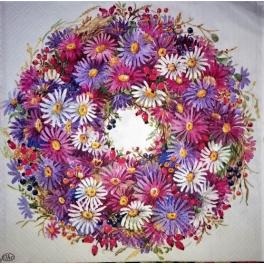 веночек летних цветов