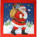 шагает Санта