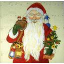 Санта с Петрушкой и игрушками