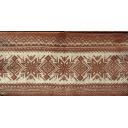 вязаный коричневый  25 х 25