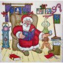 Санта в тапках