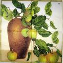 яблочная ветка в вазе