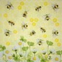 пчелки и ромашки