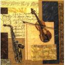 Скрипка и саксофон