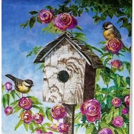 домик в розах