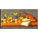 скрипка и фрукты