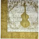 скрипка и ноты. Paula Scaletta