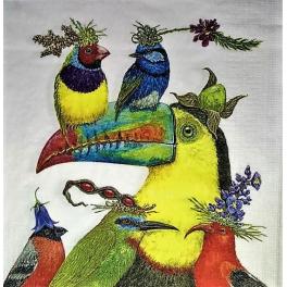Vicki Sawyer. Шесть птиц