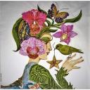 Девушка и птицы. Ron Tanovitz