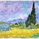 Пейзаж. Ван Гог.