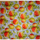 фон яблоки на узоре