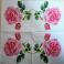 Роза нежная 25 х 25