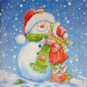 Милый мой снеговичок