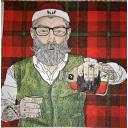 дед мороз с виски
