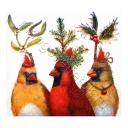 три праздничных птицы