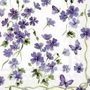 фон сиреневые цветочки