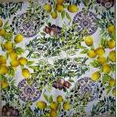 Лимоны, сливы и  маслины 33 х 33  (Кр20)