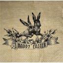 кролики Счастливая Пасха