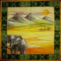 Слон и пейзаж