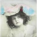 девочка в шляпке SAGEN VINTAGE
