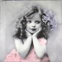 Девочка с цветком