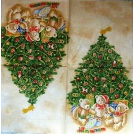 мишки под елкой