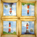маяки в желтой рамке