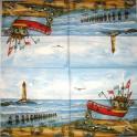 Море, лодка