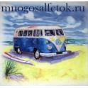 голубой автобус