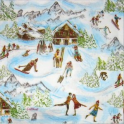 Лыжный курорт.