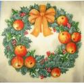 рождественский венок (К21)