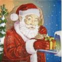 Дед Мороз и мышка.