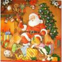 Санта, дети, подарки