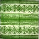 Вязаный зеленый