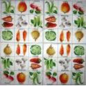 грибочки и овощи