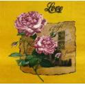 ветка розы, обрывок письма