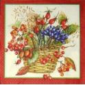 Осенние плоды в корзине