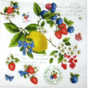Ягодки и лимончик