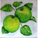 зеленое яблоко
