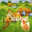 Хрюша в деревеньке