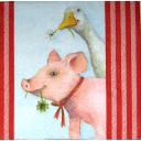 Свинья и гусь