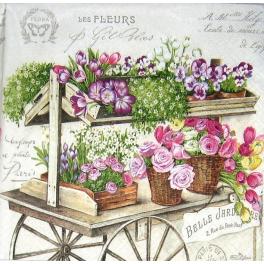 Тележка цветочницы